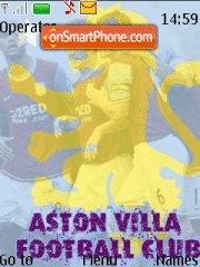 FC Aston Villa theme screenshot