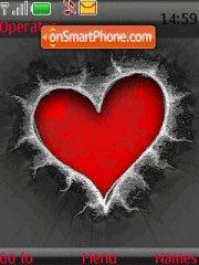 Red Heart 01 es el tema de pantalla