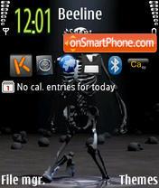 Скриншот темы Skelet