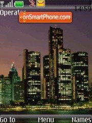 City theme screenshot