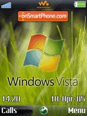 Windows Vista es el tema de pantalla