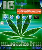 Konoplya theme screenshot