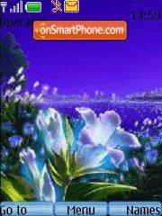 Скриншот темы Abstract Flowers