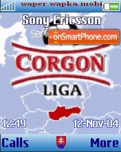 Corgon League theme screenshot