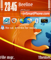 Firefox v1 01 theme screenshot