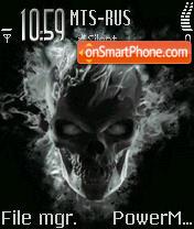Skull Gost es el tema de pantalla