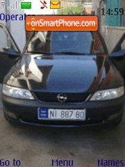 Скриншот темы Opel Vectra 2.0 16v 136hp