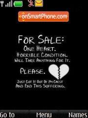 Heart 4 Sale theme screenshot