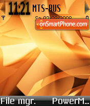 Скриншот темы Abstract 14