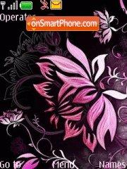 Скриншот темы Dark Pink Lamour