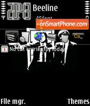 Simple Pulp Fiction theme screenshot