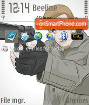 Capture d'écran Shooter thème