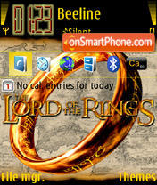 Lord Of The Rings 05 es el tema de pantalla