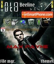 Max Payne 03 es el tema de pantalla