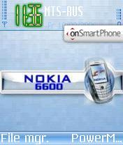 Nokia 6600 v1 theme screenshot