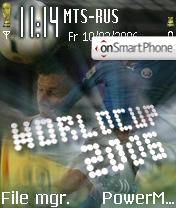 Worldcup2006 theme screenshot