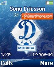 Dinamo Moskovskoe theme screenshot