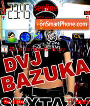 DVJ BAZUKA.sis theme screenshot