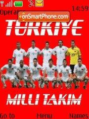 Milli Takim Turkiye theme screenshot
