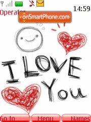 I Love You 13 es el tema de pantalla