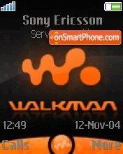 Walkman Orange es el tema de pantalla