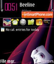 Pink Mask theme screenshot