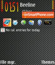 CarbonF1 theme screenshot