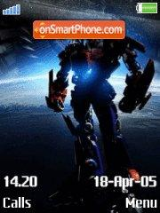 Transformers 09 es el tema de pantalla