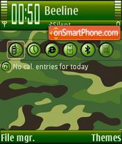 Camouflage es el tema de pantalla