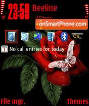 Language Roses theme screenshot