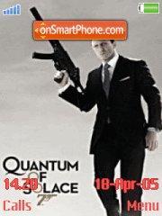 Quantum Of Solace 01 es el tema de pantalla