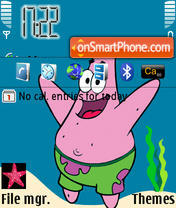 Patrick theme screenshot