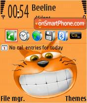 CheshirskySmile theme screenshot