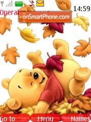 Pooh $ autumn theme screenshot