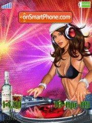 DJ Girl es el tema de pantalla