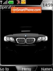 Black BMW tema screenshot