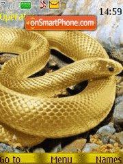 Golden Snake theme screenshot