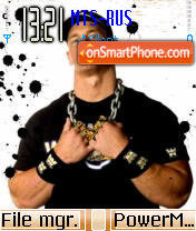Скриншот темы John Cena