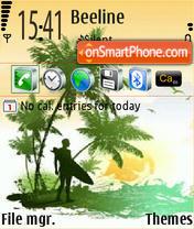 Serfer theme screenshot