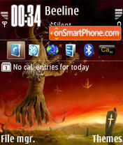 Derzaubere theme screenshot