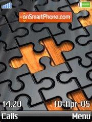 Puzzle theme screenshot