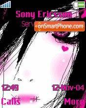 Emo Girl 05 es el tema de pantalla