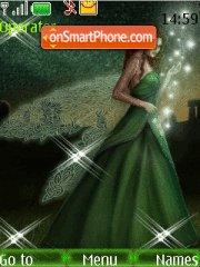 Capture d'écran Green fairy thème