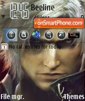 Dante theme screenshot