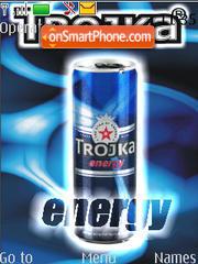 Trojka energy es el tema de pantalla