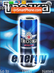 Скриншот темы Trojka energy