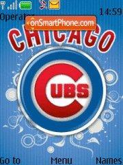 Chicago Cubs theme screenshot