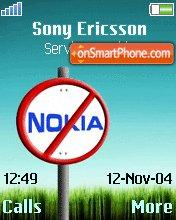 No Nokia Zone theme screenshot