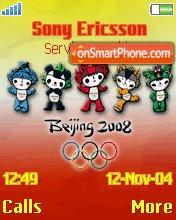 Olympics Beijing theme screenshot