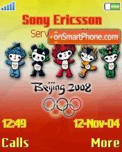 Olympics Beijing es el tema de pantalla